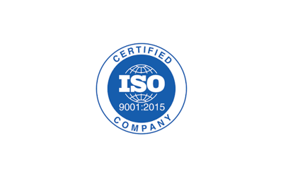 We are certified UNI EN ISO 9001: 2015