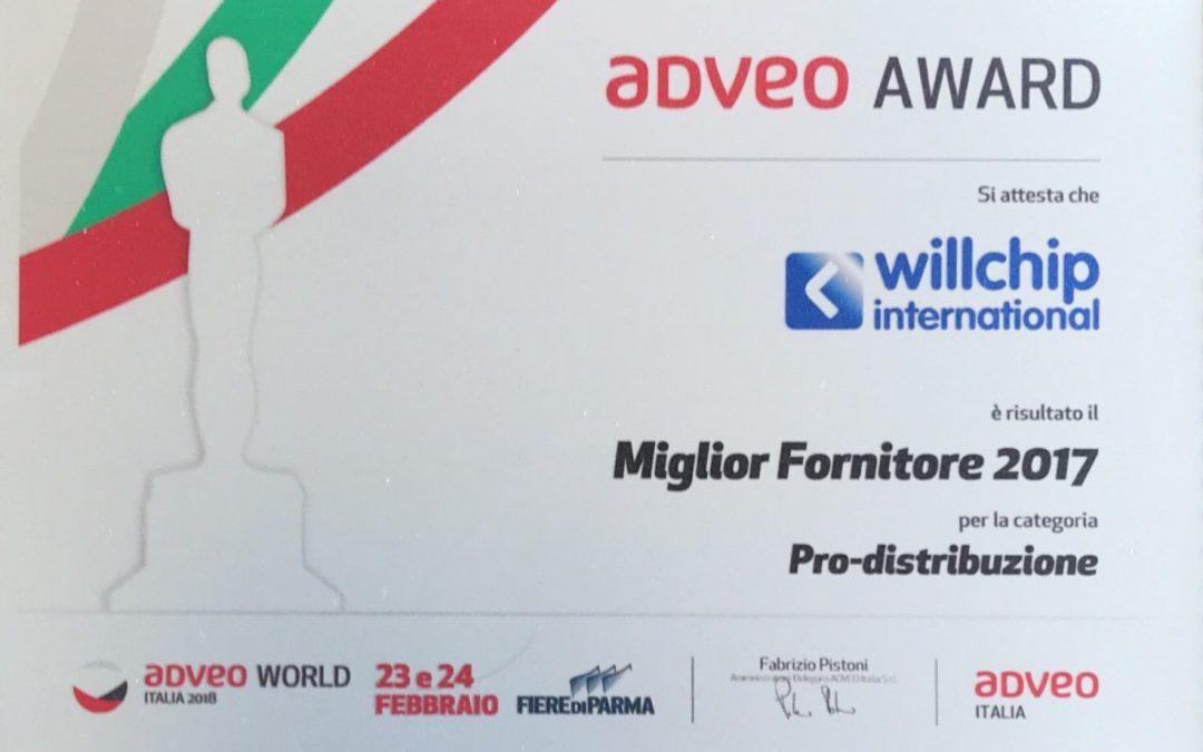 Premio AdveoWorld 2018