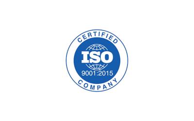 We are certified UNI EN ISO 9001: 2015